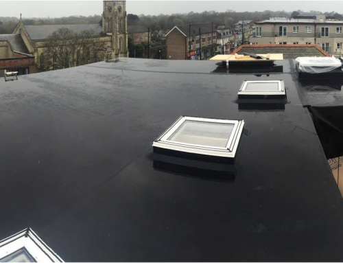 Small Commercial Install Firestone epdm
